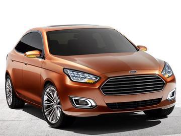 【2013上海車展】Ford Escort 新世代概念車全球首發