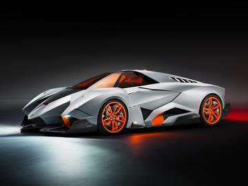 絕對快感一人獨享 自私的單座概念車藍寶基尼Egoista發表