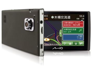 Mio首款結合「車用導航與行車記錄」功能 四合一行車記錄導航機